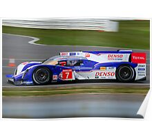 Toyota Racing No 7 Poster
