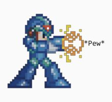 16-Bit Megaman *Pew* by impulsiVdesigns