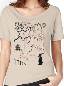 Geisha in the shadows Women's Relaxed Fit T-Shirt