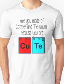 Cute (periodic table) t-shirt and sticker T-Shirt