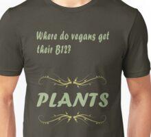 Where do vegans get their B12? Unisex T-Shirt