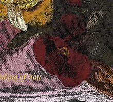 Thinking of You - Greeting Card by aprilann