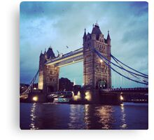 Tower Bridge, London at Dusk Canvas Print
