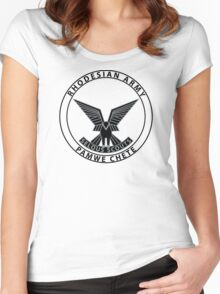 Rhodesian Army Selous Scouts Women's Fitted Scoop T-Shirt