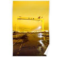 Belfast , Harland & Wolff Heavy Industries , Northern Ireland Poster
