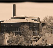 Building on Cumberland River in Nashville, Tennessee, USA by aprilann