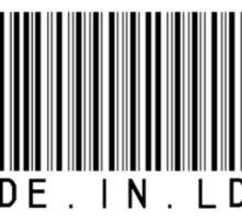 "MALDÉR ""Product"" TEE (Light Fabrics) Sticker"