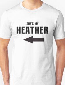 She's My Heather Unisex T-Shirt