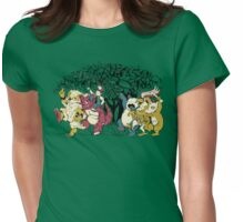 Where the Wild Monsters Are Womens Fitted T-Shirt