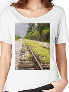 Standing By Me a Railroad Adventure Women's Relaxed Fit T-Shirt