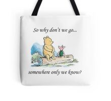 """Keane """"Somewhere Only We Know"""" Tote Bag"""