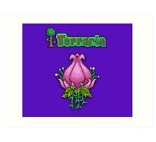 Terraria Plantera Art Print
