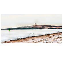Pond Island Light Photographic Print