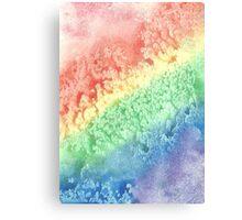 The Rainbow's Stardrops Roll Canvas Print