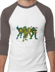 teenage mutant ninja turtles Men's Baseball ¾ T-Shirt