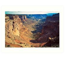 Canyon Country Curves Art Print