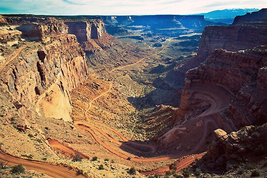 Canyon Country Curves by strayfoto
