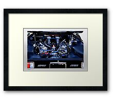 Pantera Power 'Size Matters' Framed Print