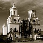 San Xavier Mission by Gina Dazzo