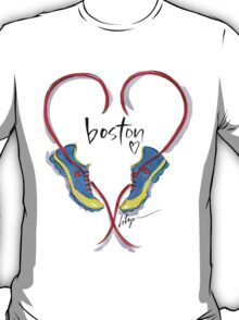 Hearts For Boston! T-Shirt