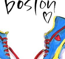 Hearts For Boston! Sticker