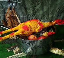 Still Life with Rubber Chicken by Andrea Maréchal
