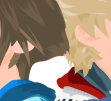 Sora & Roxas Back to Back Sticker