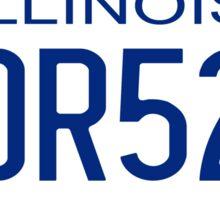 Bluesmobile Sticker