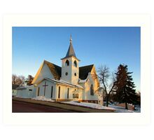 Baltic Lutheran Church Art Print