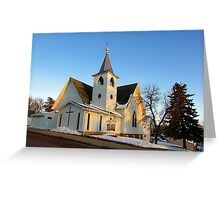 Baltic Lutheran Church Greeting Card
