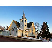 Baltic Lutheran Church Photographic Print