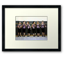 At the Barre Framed Print