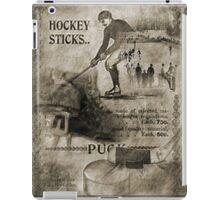 Vintage Hockey iPad Case/Skin