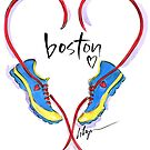 Hearts For Boston! by jenniferlilya