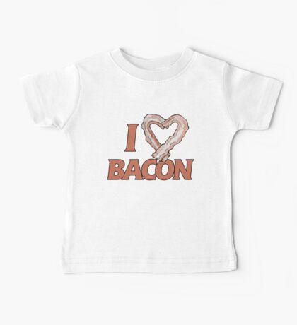I love bacon Baby Tee