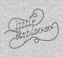 Little Explorer - B&W One Piece - Short Sleeve