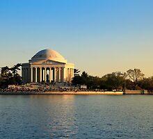 Jefferson Memorial by sunilirk