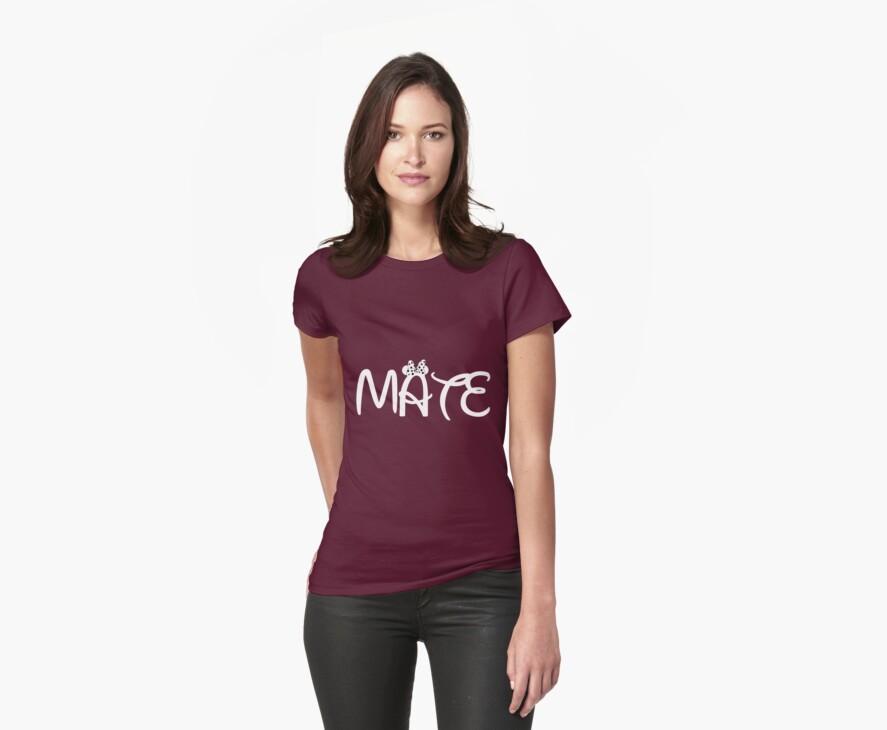 Disney Soul mate shirt (couple)  by taydizzle25
