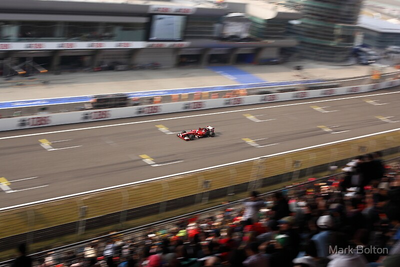 Fernando Alonso's Scuderia Ferrari wins the Chinese F1 Grand Prix