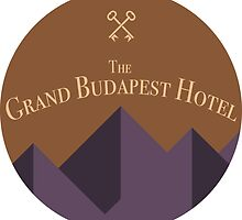 The Grand Budapest Hotel - Sticker by Zach Moore