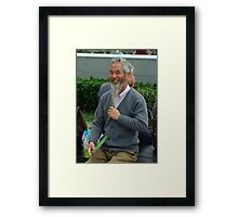 PERSON 1 Framed Print