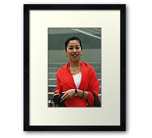 PERSON 4 Framed Print