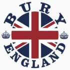 Bury Vintage Style British Flag by FlagCity