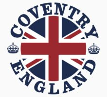 Coventry Vintage Style British Flag by FlagCity