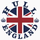 Hull Vintage Style British Flag by FlagCity