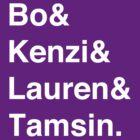 Bo & Kenzi & Lauren & Tamsin. (White Text) by burritomadness