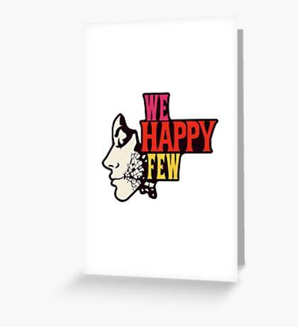 We Happy Few Greeting Card