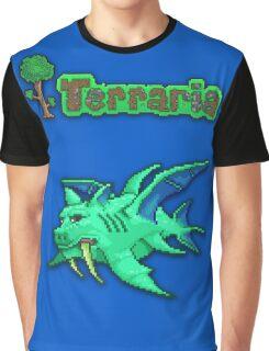 Terraria Duke Fishron Graphic T-Shirt