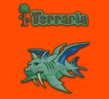 Terraria Duke Fishron Kids Tee