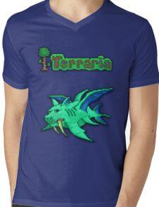 Terraria Duke Fishron Mens V-Neck T-Shirt